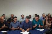Governador Beto Richa e presidente Mounir Chaowiche participam de posse da AMUNPAR