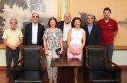 Presidente da Sanepar com Prefeito de Curitiba, Secretário Municipal de Meio Ambiente e membros da diretoria da CS Bio Energia