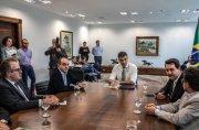 Presidente da Sanepar participa de reunião sobre projeto de Gestão de Resíduos