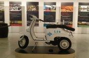 Lambretta utilizada nos serviços ao cliente no Norte Pioneiro.