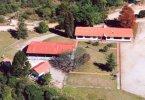 Vista áerea do Centro de Educação Socioambiental Mananciais da Serra